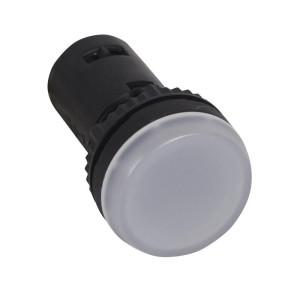 Voyant monobloc avec LED intégrée - blanc - 130V LEGRAND