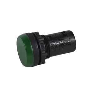 Voyant monobloc avec LED intégrée - vert - 130V LEGRAND