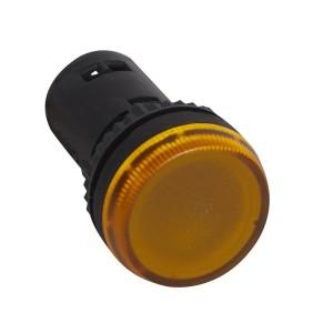 Voyant monobloc avec LED intégrée - jaune - 130V LEGRAND