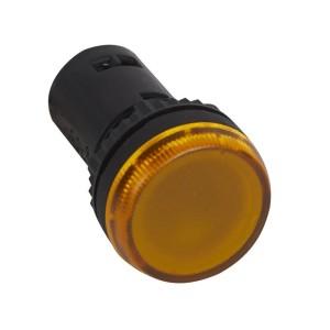 Voyant monobloc avec LED intégrée - jaune - 230V LEGRAND