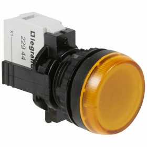Voyant lumineux Osmoz complet IP69 jaune - 230V~ LEGRAND