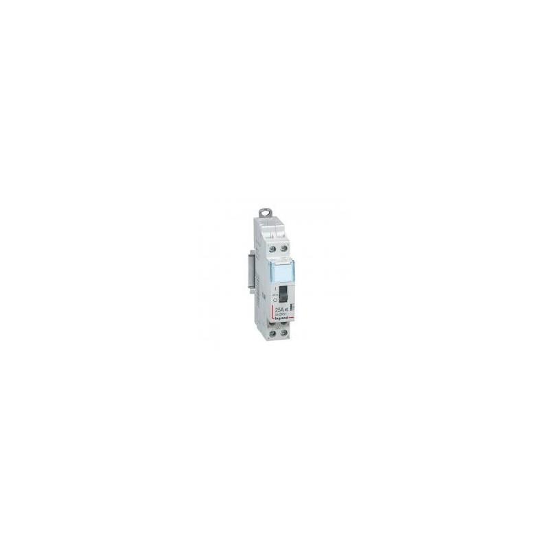 Contacteur domestique CX³ silencieux bobine 230V~ - 2P 250V~ - 25A - contact 2F - 1 module LEGRAND