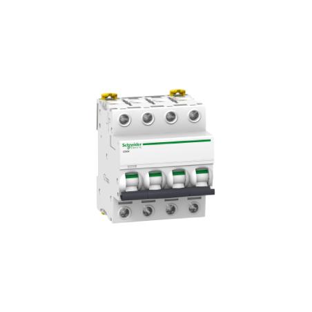 Disjoncteur 40A courbe C - 4P - Acti 9 iC60H SCHNEIDER