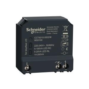 Micromodule encastré Wiser pour variateur de lumière - zigbee SCHNEIDER