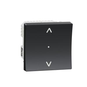 Interrupteur volet-roulant Unica 4A - Wiser - zigbee - anthracite SCHNEIDER