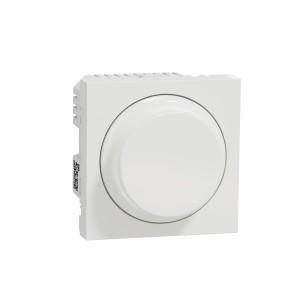 Variateur rotatif Unica Wiser 2 fils - zigbee - blanc SCHNEIDER
