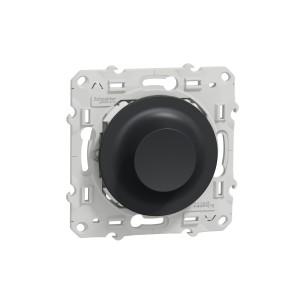 Variateur rotatif LED Odace Wiser 2fils - zigbee - anthracite SCHNEIDER