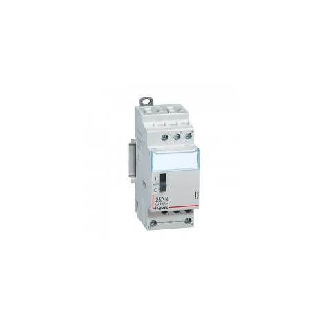 Contacteur domestique CX³ silencieux bobine 230V~ - 3P 400V~ - 25A - contact 3F - 2 modules LEGRAND