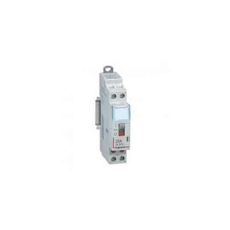 Contacteur de puissance bobine 230 V~ - 2P - 250 V~ - 25 A - 2F - 1 module LEGRAND