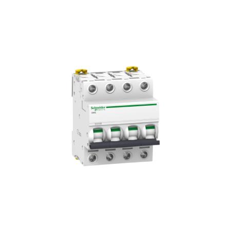 Disjoncteur Acti9 iC60L - 4P - 10A - courbe C SCHNEIDER
