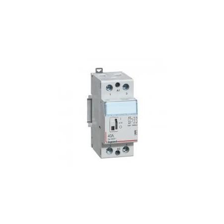 Contacteur de puissance bobine 230 V~ - 2P - 250 V~ - 40 A - 2F - 2 modules LEGRAND