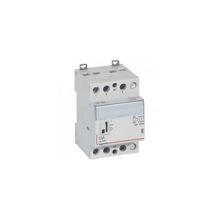 Contacteur de puissance bobine 230 V~ - 3P - 400 V~ - 40 A - 3F - 3 modules LEGRAND