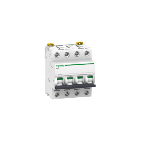 Disjoncteur Acti9 iC60L - 4P - 10A - courbe B SCHNEIDER