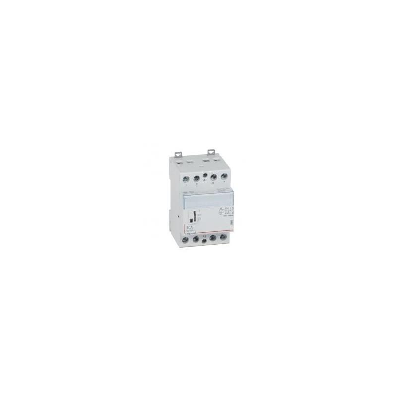 Contacteur de puissance bobine 230 V~ - 4P - 250 V~ - 40 A - 4F - 3 modules LEGRAND