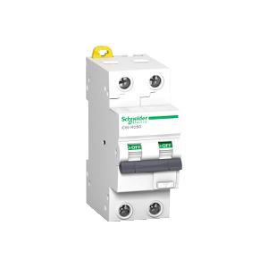 Disjoncteur différentiel Acti 9 iC60 RCBO - 2P - 10A - 30mA - C - 10kA - type AC SCHNEIDER