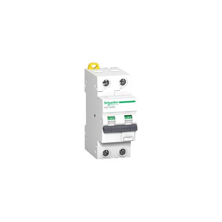 Disjoncteur différentiel 2P - 10A - 30mA - C - 10kA - type AC - Acti9 iC60 RCBO SCHNEIDER