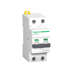 Acti 9 iC60 RCBO - Disjoncteur différentiel - 2P - 20A - 30mA - Type AC SCHNEIDER