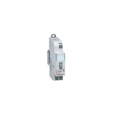Télérupteur standard à bornes auto 230 V~- 1P - 250 V~ - 16 A - 1F - 1 module LEGRAND
