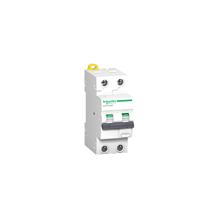 Disjoncteur différentiel 2P - 32A - 30mA - C - 10kA - type AC - Acti 9 iC60 RCBO SCHNEIDER
