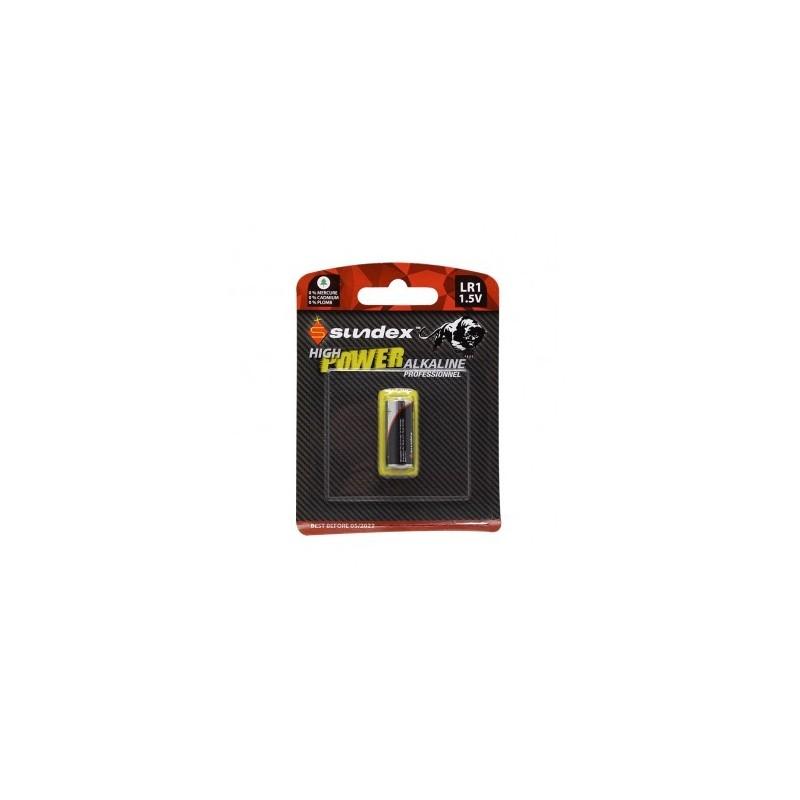 Piles LR1 1.5V super alcaline - x 1 -SUNDEX VISION EL
