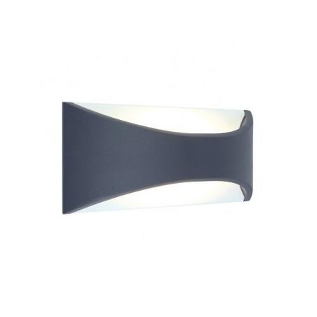 Applique murale LED 6W 230V 3000°K anthracite IP65 VISION EL