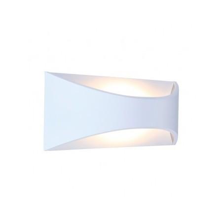 Applique murale LED 6W 230V 3000°K blanc IP65 VISION EL