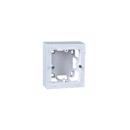 ODACE Styl - Boîte pour montage en saillie blanc - 1 poste SCHNEIDER