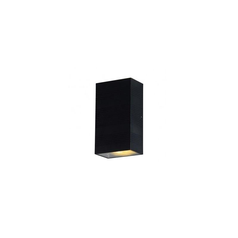 Applique murale LED 2x5W 3000°K rectangulaire - Gris anthracite VISION EL