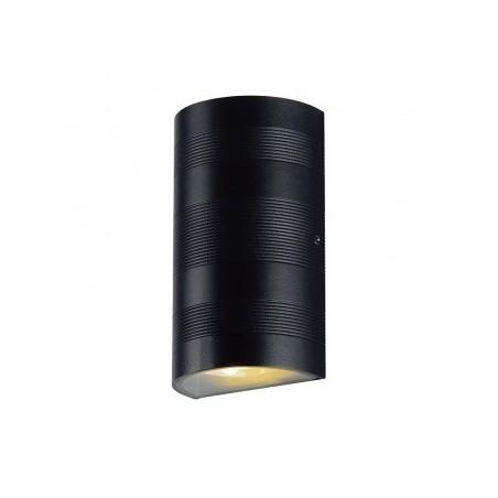 Applique murale LED 2x5W 4000°K cylindrique - Gris anthracite VISION EL
