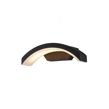 Applique murale LED 6W 4000°K curviligne - Gris anthracite VISION EL