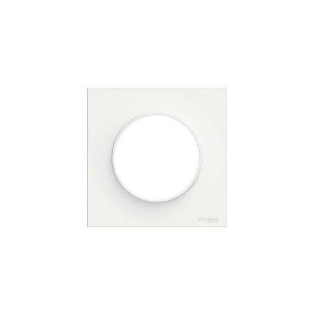 Odace Styl, plaque Blanc 1 poste SCHNEIDER