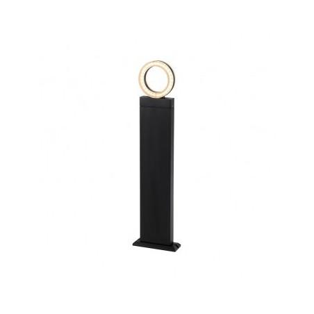 Potelet rectangulaire LED 12W 4000°K diffuseur rond - 1m VISION EL