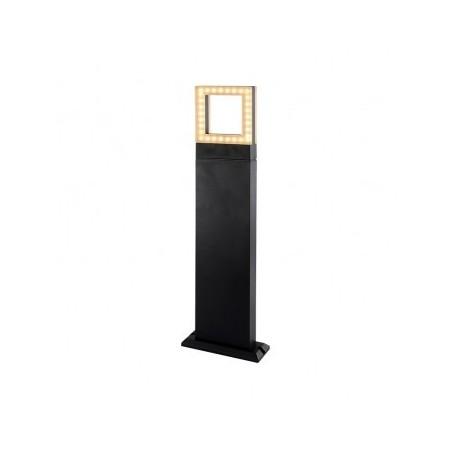 Potelet rectangulaire LED 12W 3000°K diffuseur carré - 0,5m VISION EL