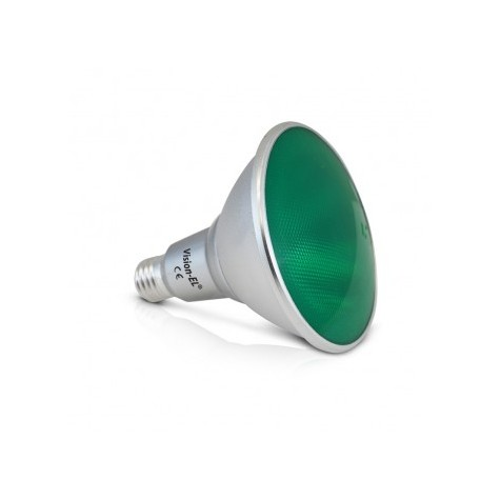 Ampoule LED E27 PAR38 16W vert VISION EL
