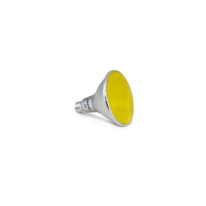 Ampoule LED E27 PAR38 16W jaune VISION EL