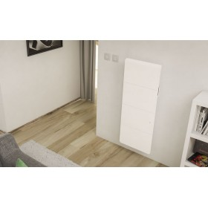 NOIROT AXIOM Smart Eco Control vertical blanc NOIROT
