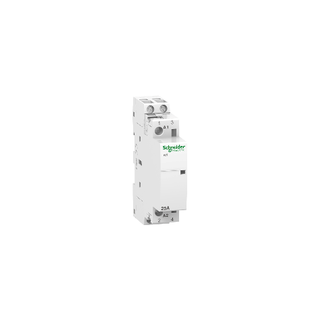 Contacteur 25A 2NO 230-240VCA - Acti9, iCT SCHNEIDER