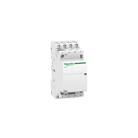 Contacteur 25A 4NO 230-240VCA 50Hz - Acti9, iCT SCHNEIDER