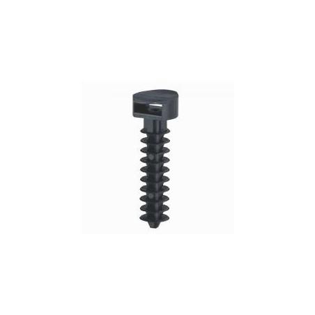 Embase noire protégée uv à cheville standard pour perçage Ø8mm - LEGRAND 031955 LEGRAND