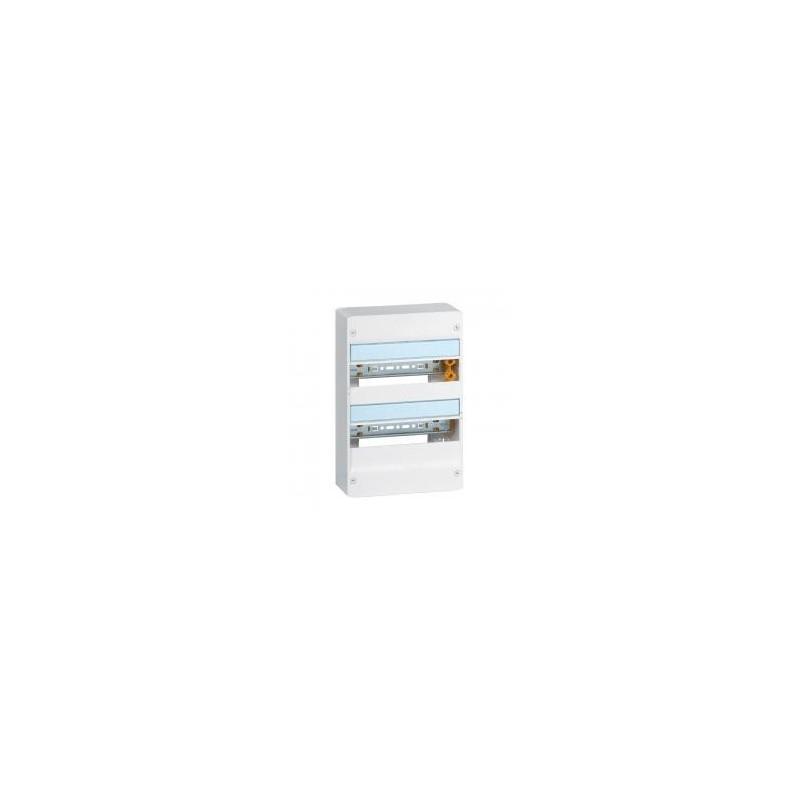 Coffret DRIVIA 13 modules 2 rangées IP30 IK05 - Blanc RAL9003 LEGRAND