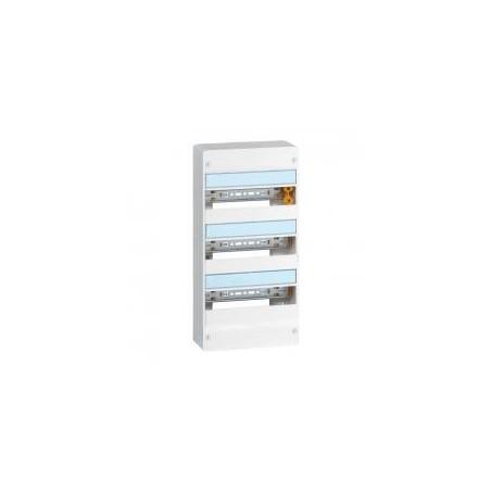 Coffret DRIVIA 13 modules 3 rangées IP30 IK05 - Blanc RAL9003 LEGRAND
