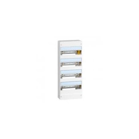 Coffret DRIVIA 4 rangées 13 modules IP30 IK05 - Blanc RAL9003 LEGRAND