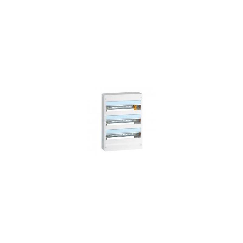 Coffret DRIVIA 18 modules 3 rangées IP30 IK05 - Blanc RAL9003 LEGRAND