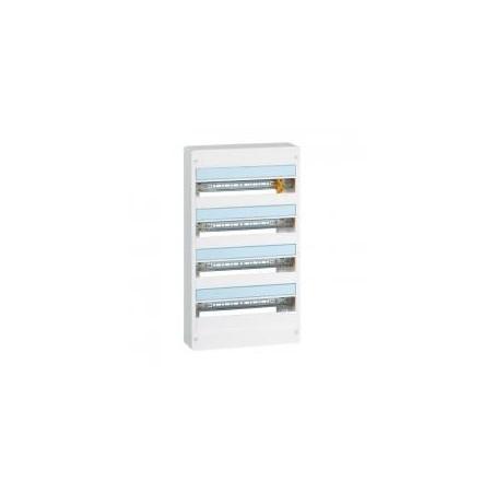 Coffret DRIVIA 18 modules 4 rangées IP30 IK05 - Blanc RAL9003 LEGRAND