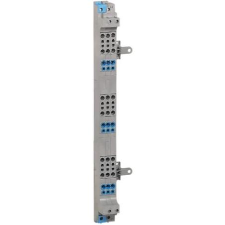 Peigne d'alimentation tétrapolaire vertical 63A VX³ à bornes automatiques pour coffrets 3 rangées LEGRAND