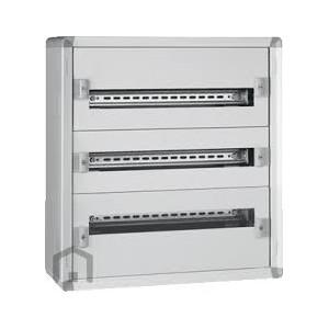 Coffret XL³160 tout modulaire 3 rangées - 72 modules - métal LEGRAND