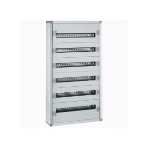 Coffret XL³160 tout modulaire 6 rangées - 144 modules - métal LEGRAND