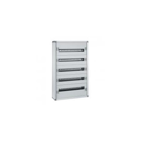 Coffret XL³160 tout modulaire 5 rangées - 120 modules - métal LEGRAND