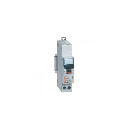 Disjoncteur 32A courbe D - 6kA - 1P+N 230V~ auto/auto - 1 module - DNX³4500 LEGRAND