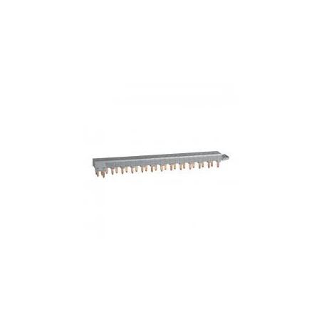 Peigne d'alimentation tétrapolaire tête de groupe HX³ horizontal optimisé - 12 modules LEGRAND